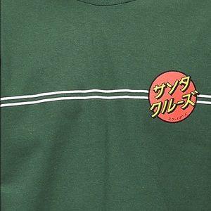 santa cruz japan dot shirt